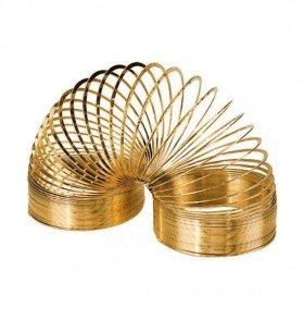14-Karat Gold Plated Slinky