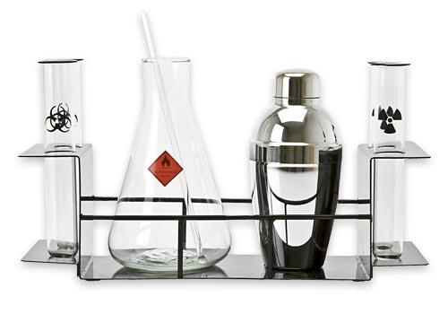 Scientific Chemistry Cocktail Set