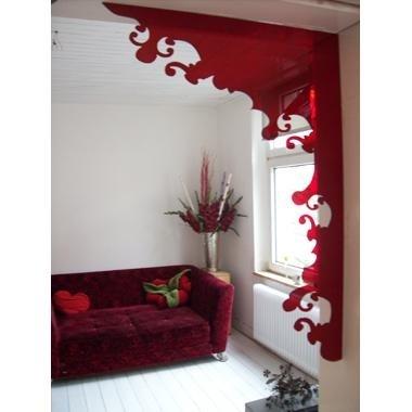 Indoorframe Flower red