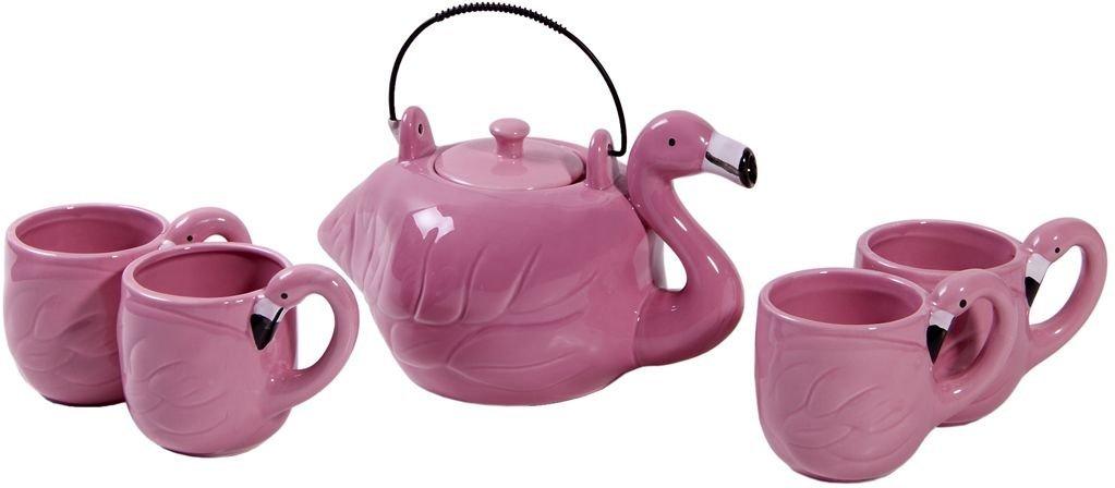 FLAMINGO SHAPE TEA SET