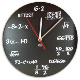 Pop Quiz Math Clock