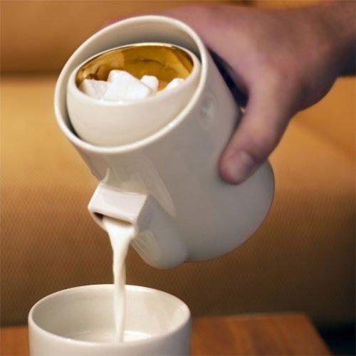 Tonfisk Newton stacking milk and sugar set