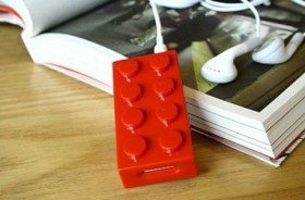 Building Block Shaped MP3