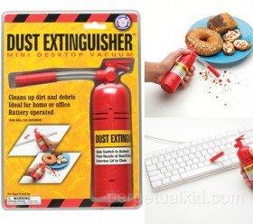 Dust Extinguisher Mini Desktop Vacuum