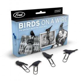 Bird on a Wire Photo Holder