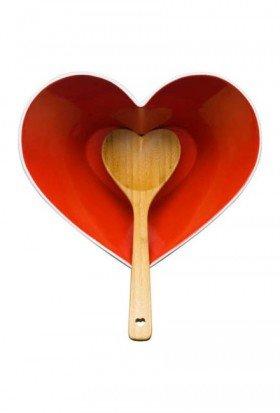 Heart Serving Bowl