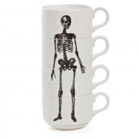 Skeleton Espresso Cup Stack