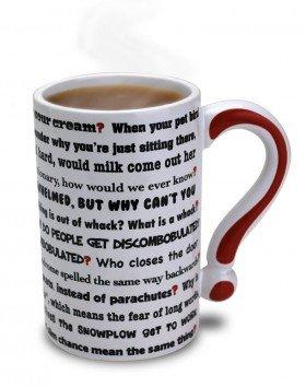 The Questions Mug