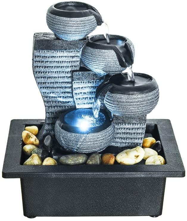 Four Tiered Water Fountain