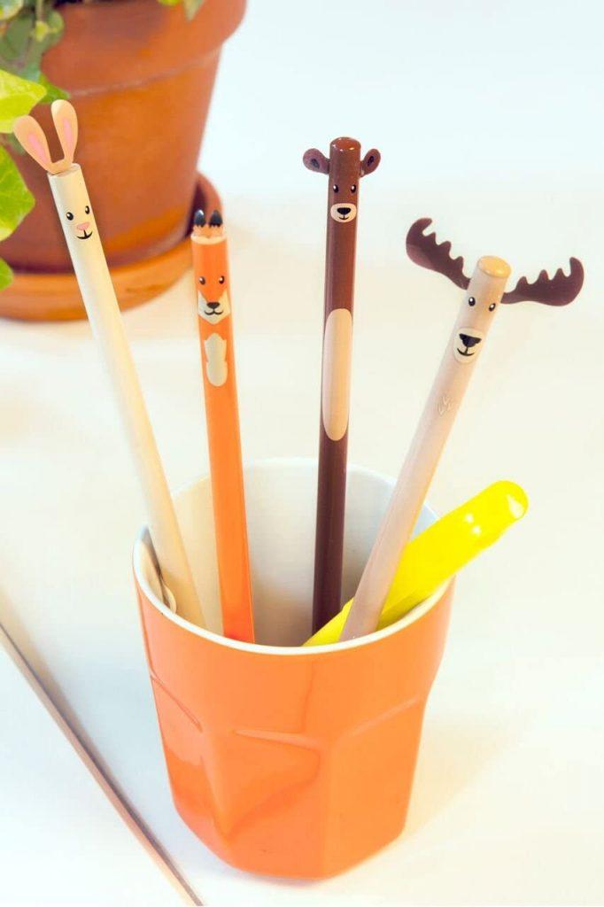 Woodland Animal Pencils