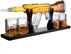 Whiskey Gun Decanter